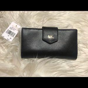 MK medium snap wallet
